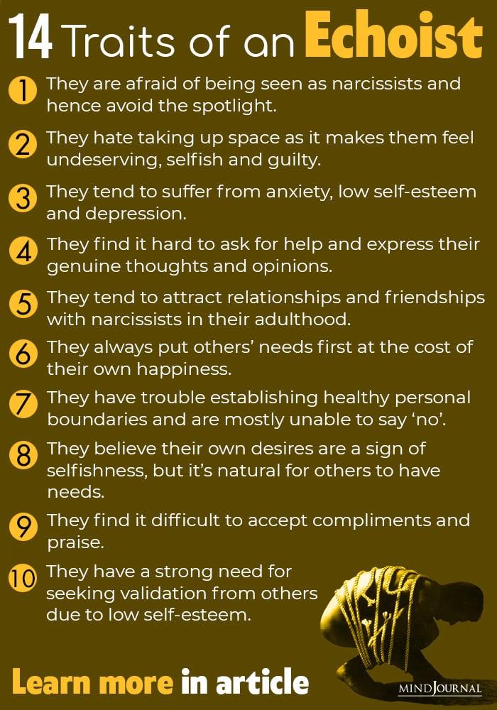 Understanding Echoism: 14 Signs of an Echoist (The Opposite Of A Narcissist)