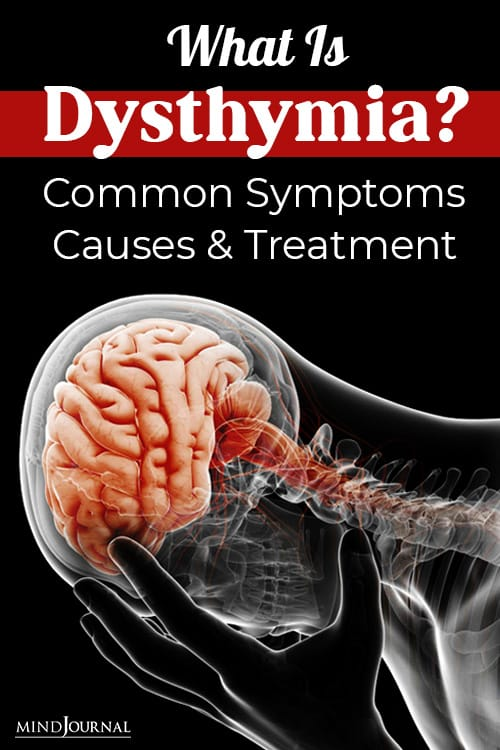 what is dysthymia pin