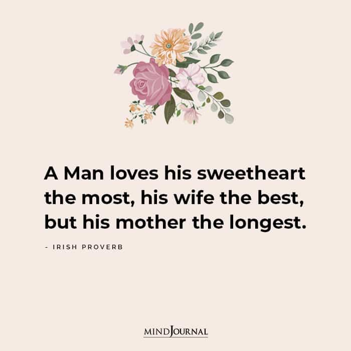 A Man Loves His Sweetheart The Most