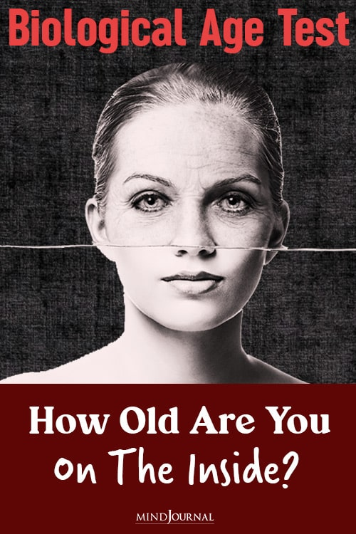Biological Age Test pin