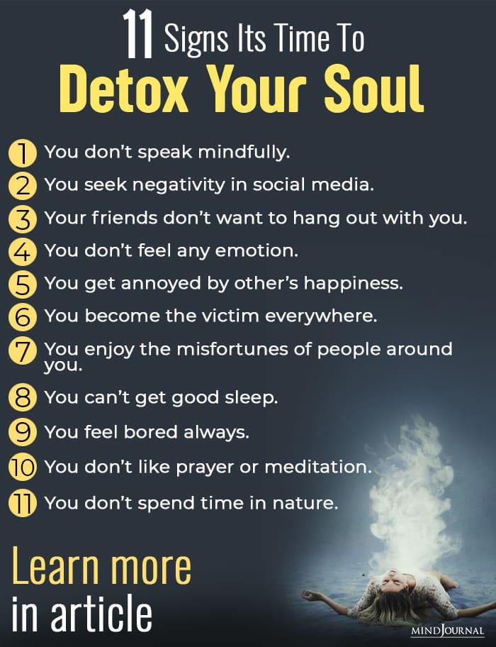 detox your soul info