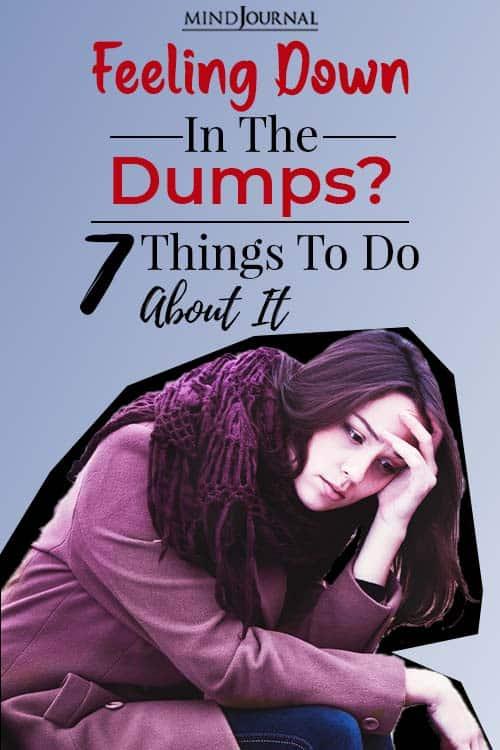 Feeling Down in the Dumps pin