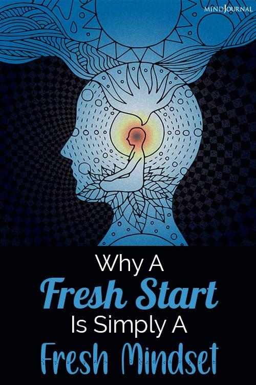 Fresh Start Simply Fresh Mindset pin