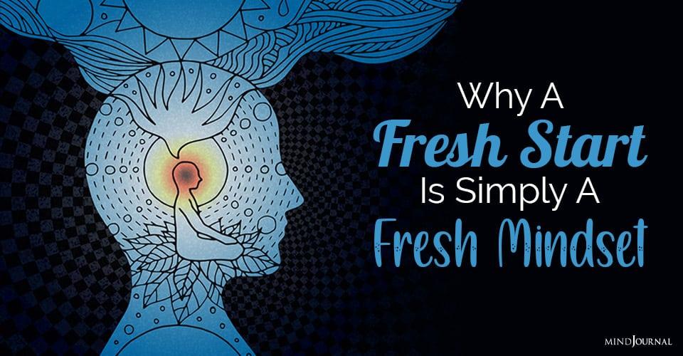 Fresh Start Simply Fresh Mindset