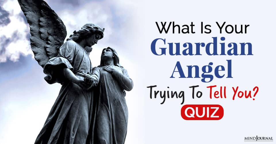 Guardian Angel Trying Tell You