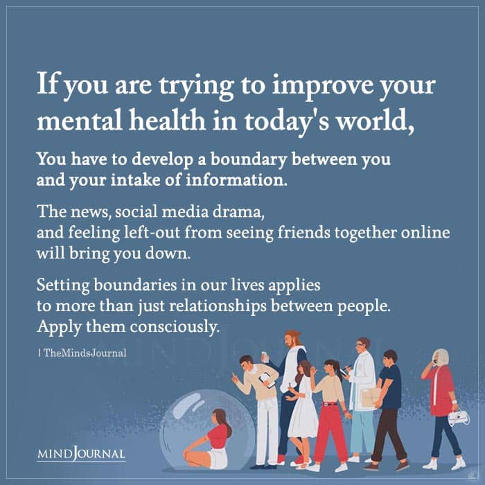 If You Are Trying To Improve Your Mental Health