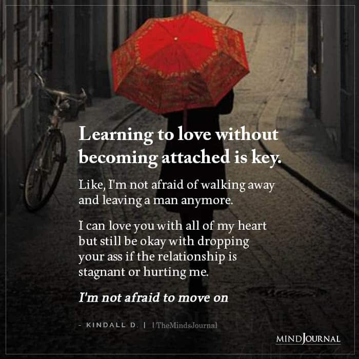 Learning To Love Without Becoming Attached Is Key