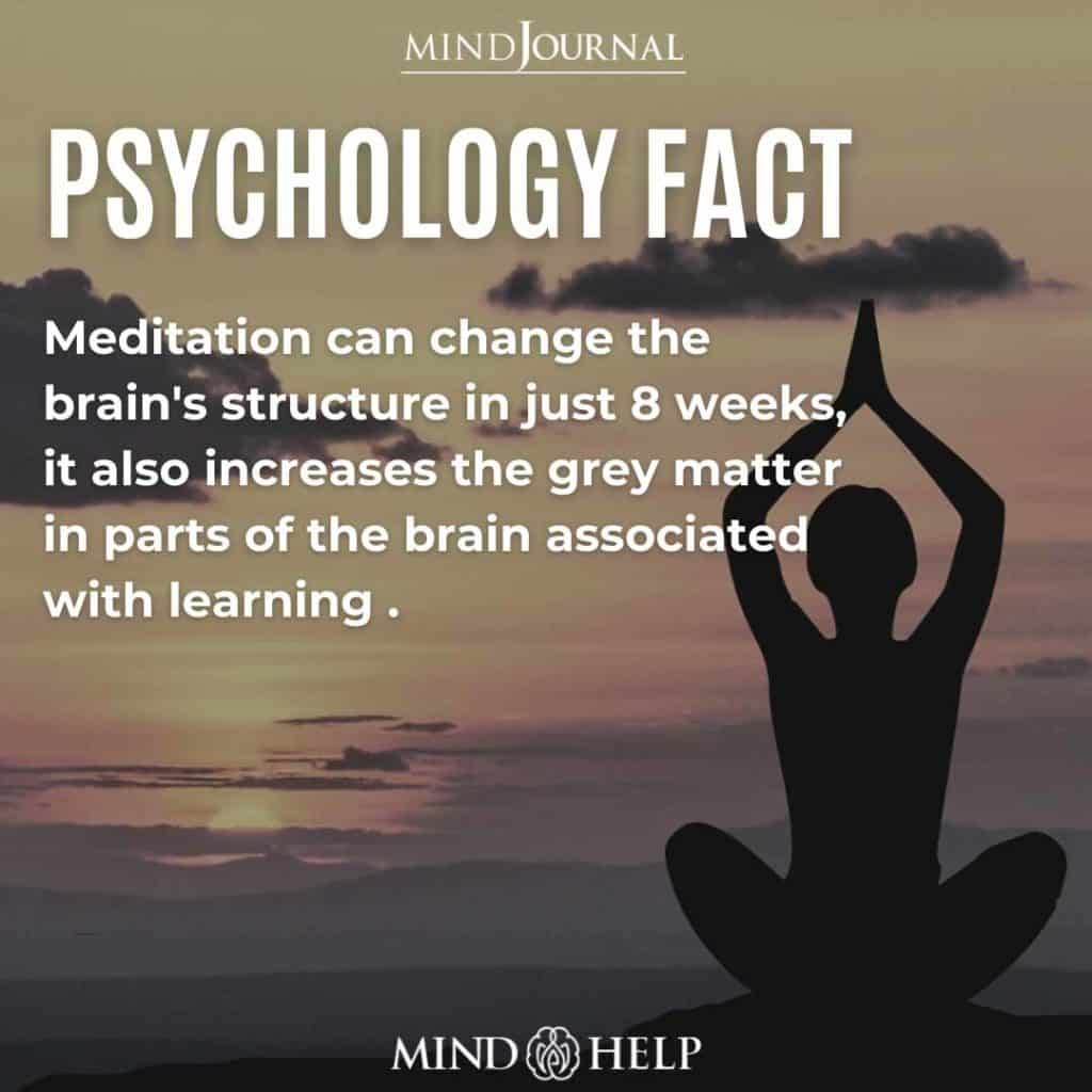 Meditation Can Change the Brain's Structure