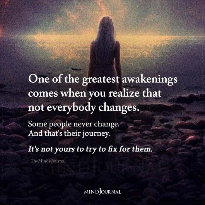 One Of The Greatest Awakenings Comes When