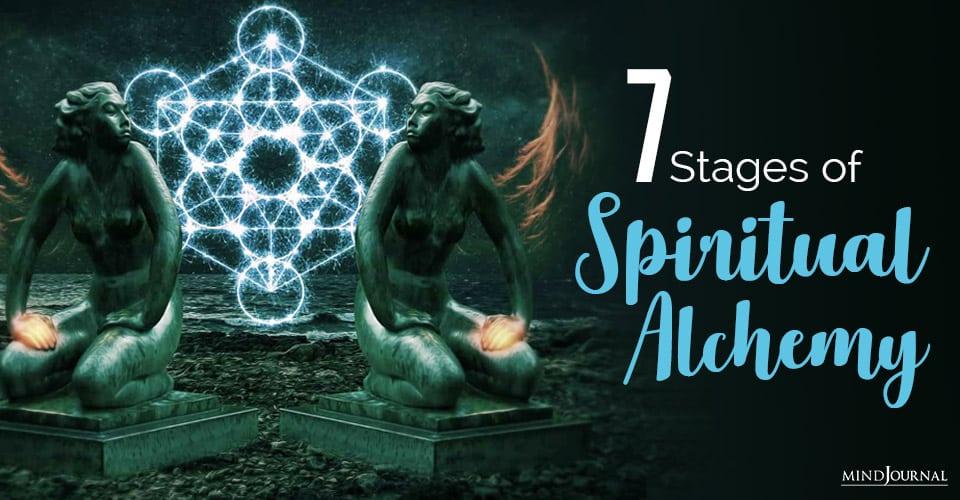 Stages Spiritual Alchemy