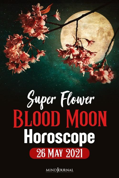 Super Flower Blood Moon Horoscope pin