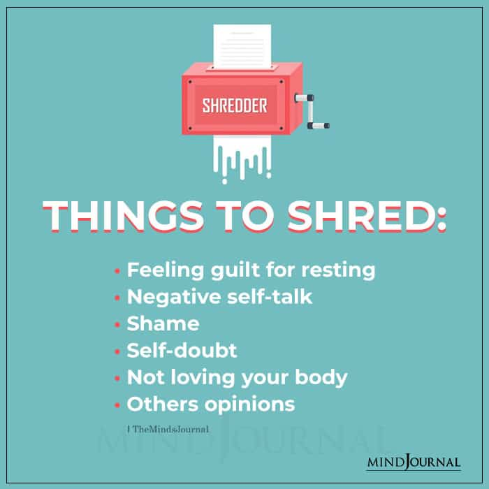 Things To Shred