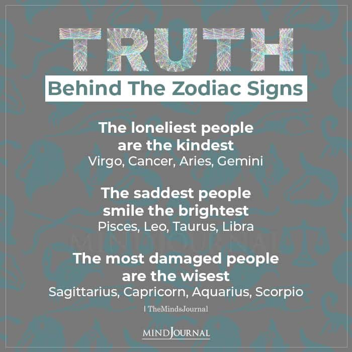Truth Behind The Zodiac Signs