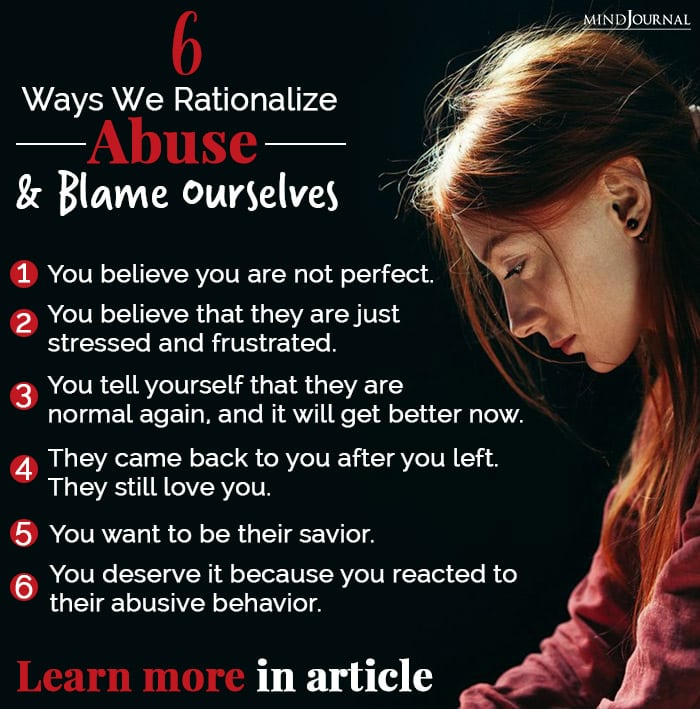 Ways You Rationalize Abuse and Blame Yourself Instead info