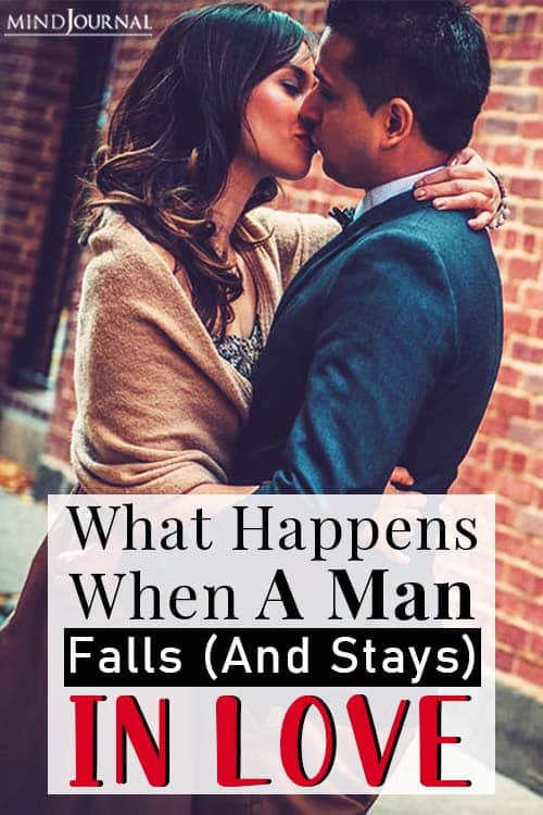 What Happens When A Man Falls (And Stays) In Love pin