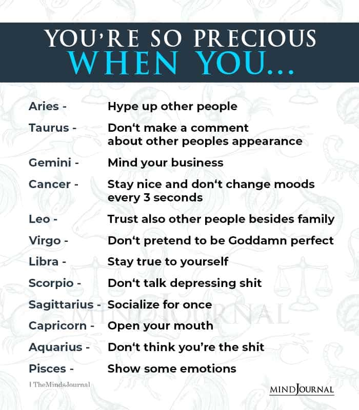 Zodiac Signs And What Makes Them Precious
