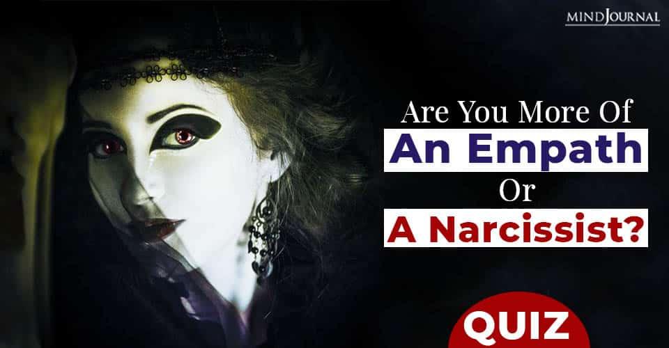 a empath or a narcissist