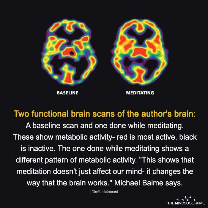 Meditation changes how brain works