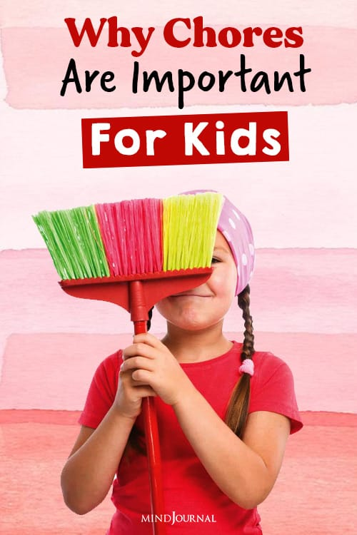 chores are important for kids pin