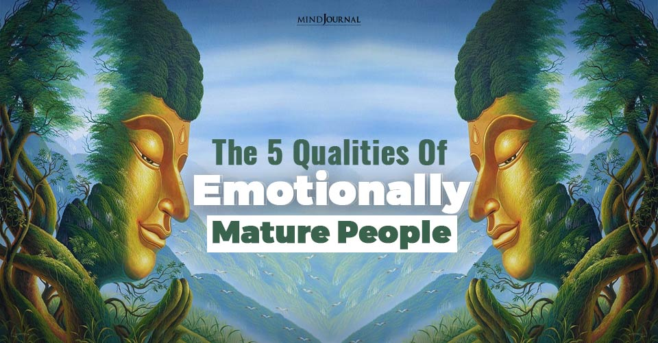 emotionally mature people