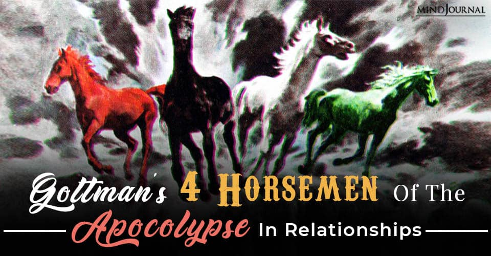 gottmans four horsemen