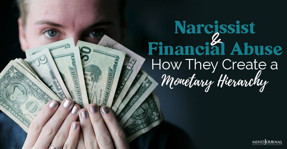 narcissist and financial abuse