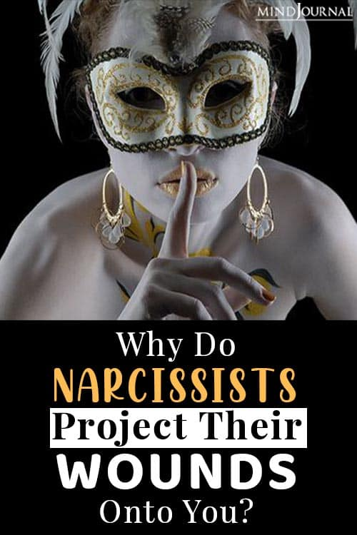 narcissists project pin