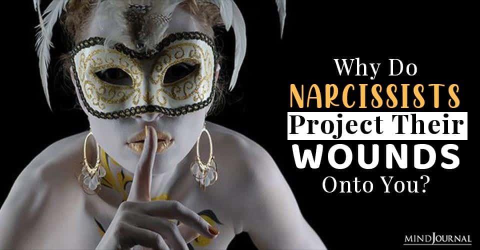 narcissists project