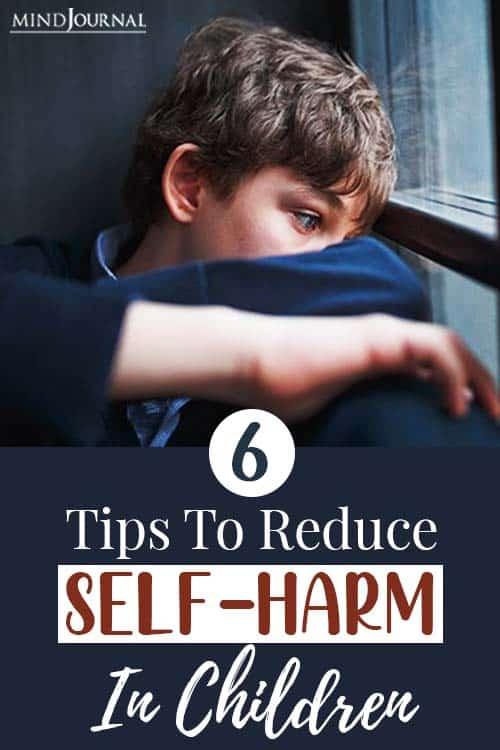 reduce self harm in children pin