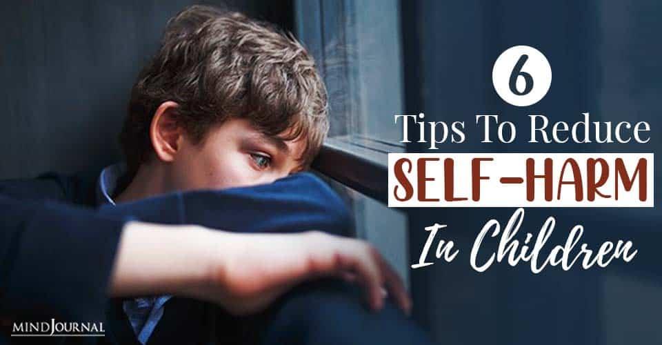 reduce self harm in children