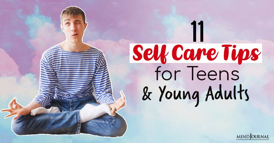 self-care tips for teens and young adults