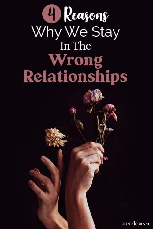 stay in the wrong relationships pin relation