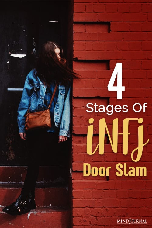the infj door slam and its stages pin