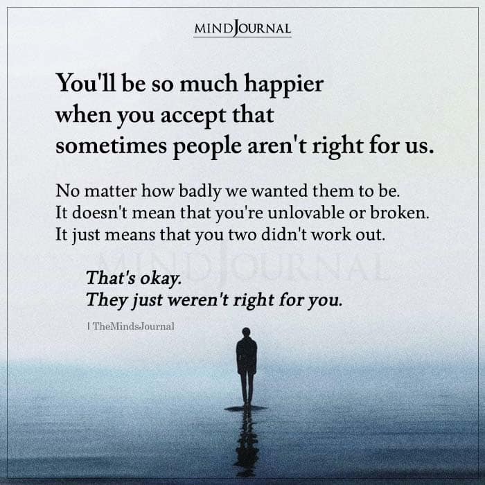 youll be happier when you accept
