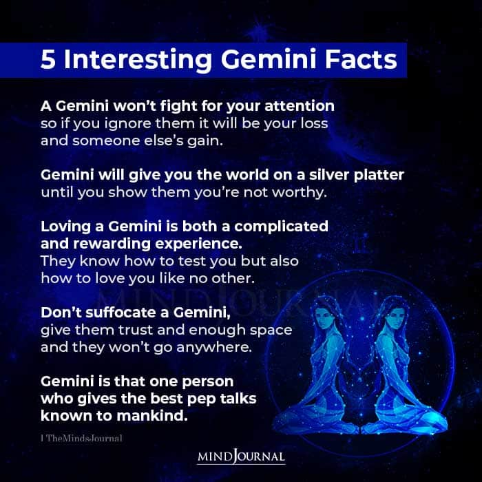 5 Interesting Gemini Facts