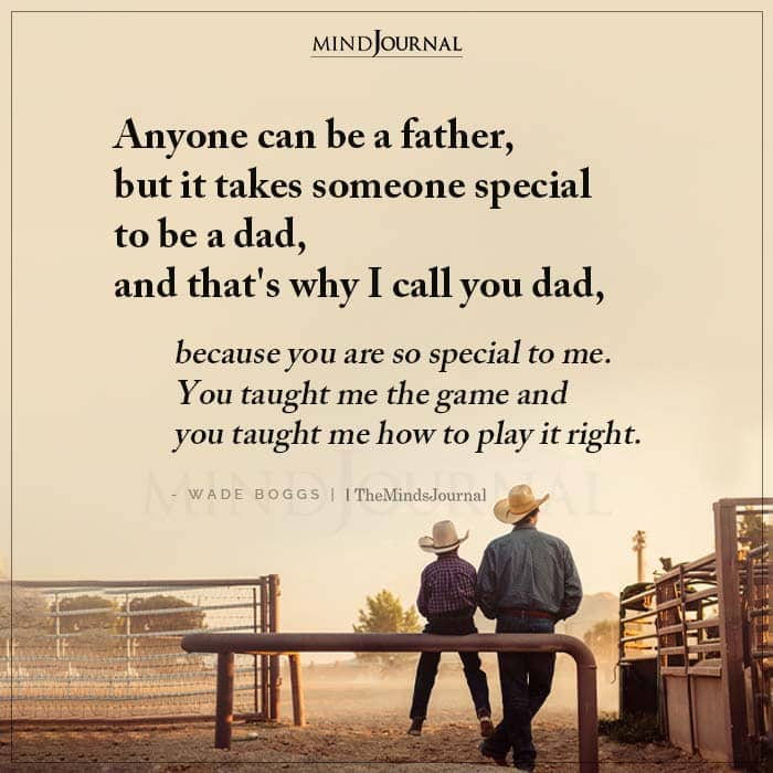 Anyone Can Be A Father