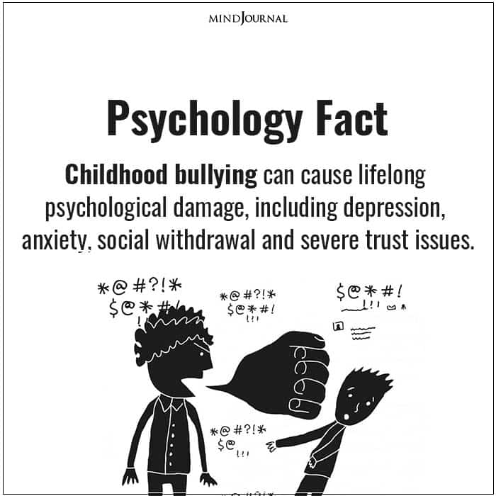 Childhood bullying