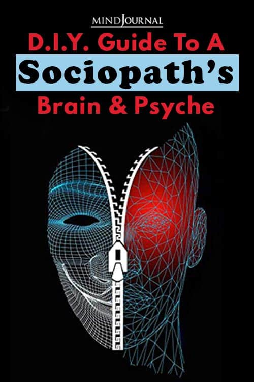 D.I.Y. Guide to a Sociopath's Brain and Psyche Pin