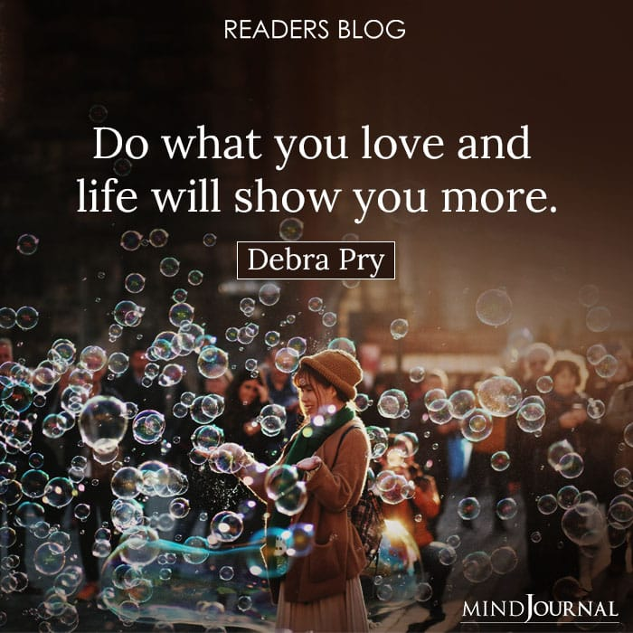 Do what you love and