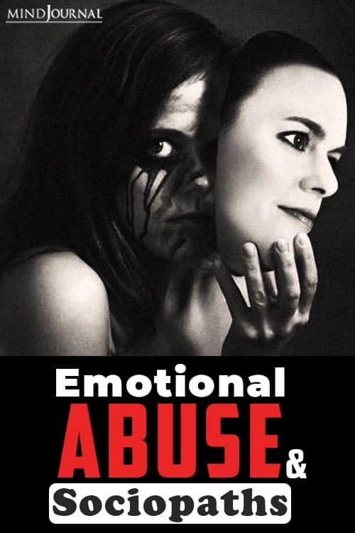 Emotional Abuse and Sociopaths pin