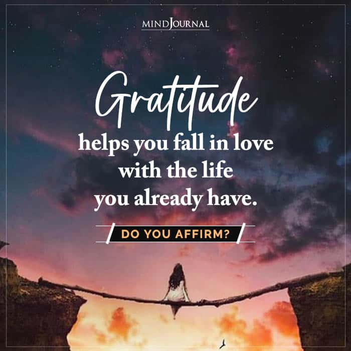 Gratitude Helps You Fall In Love