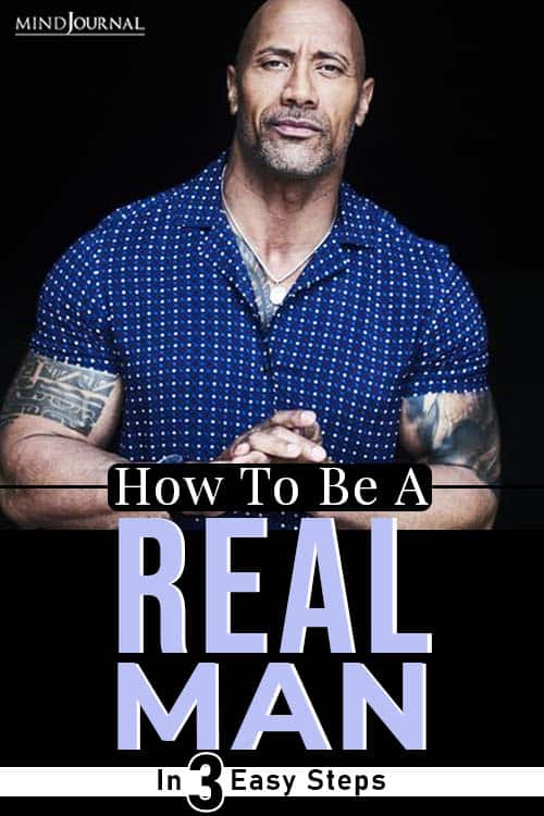 How To Be A REAL Man pin
