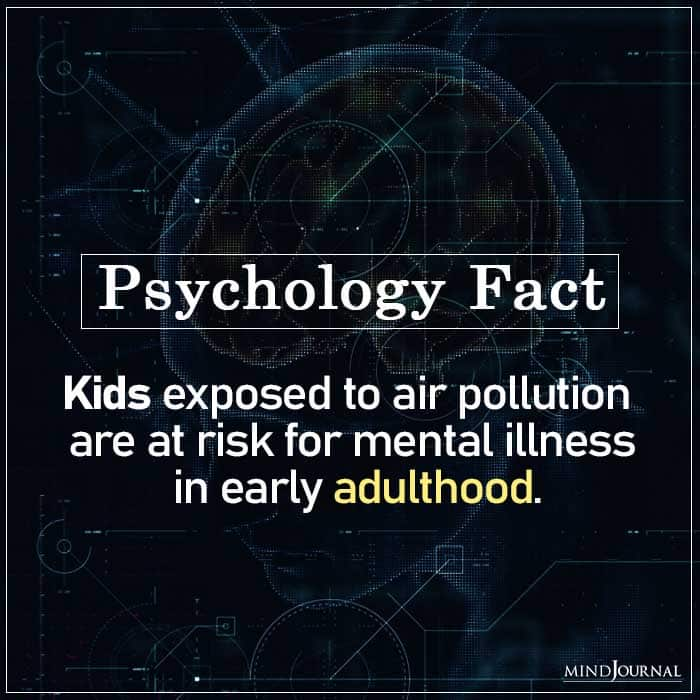 Kids Exposed to Air Pollution Are at Risk for Mental Illness