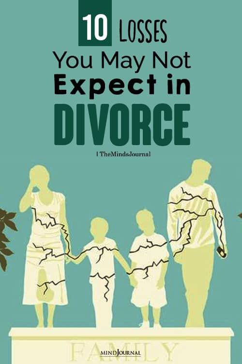 Losses You May Not Expect in Divorce pin