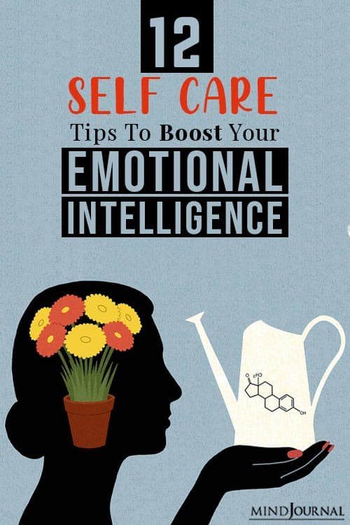 Self Care Practices That Can Boost Your Emotional Intelligence Pin