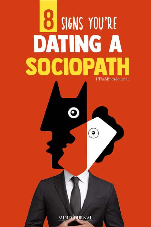 Signs You Are Dating A Sociopath pin
