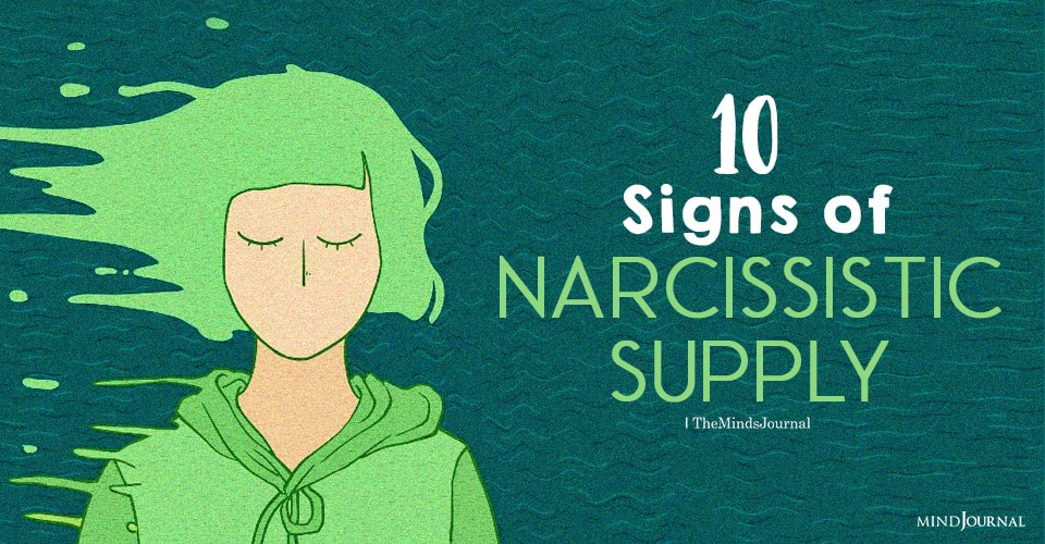 Signs of Narcissistic Supply