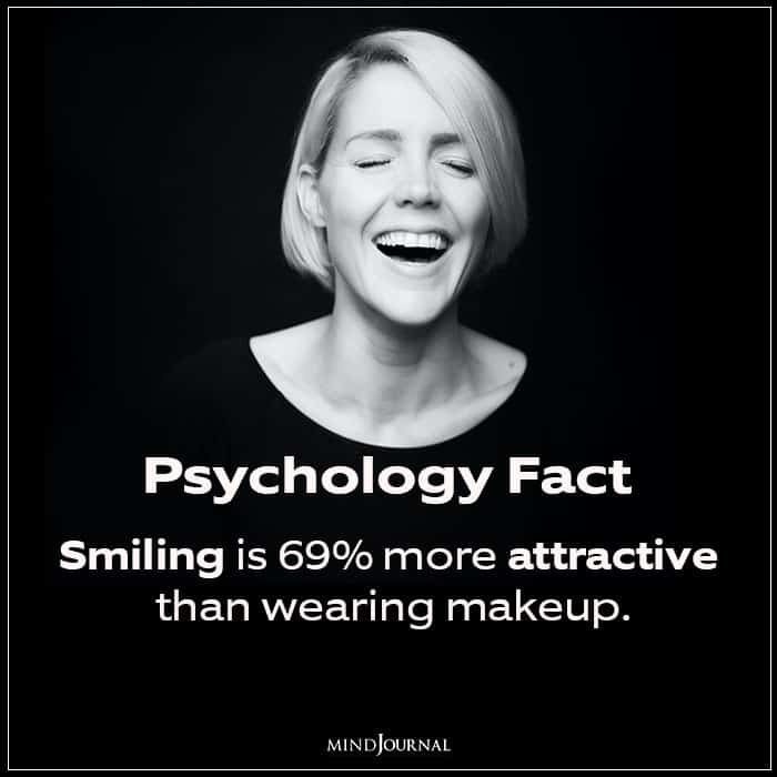 Smiling Is 69% More Attractive Than Wearing Makeup