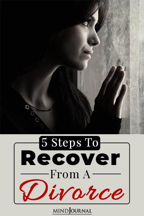 Steps to Recover From a Divorce pin