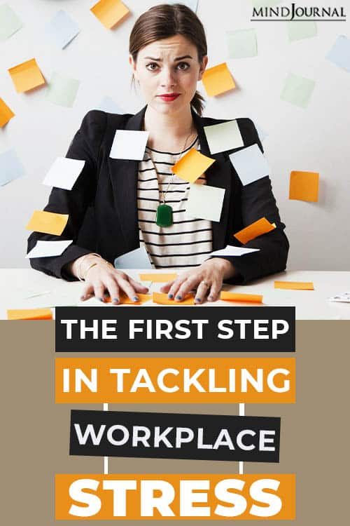 The First Step in tackling Workplace Stress PIN